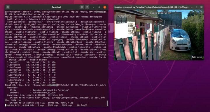 Reolink RLC-810A适用于RTSP流媒体