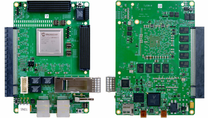TySOM-M-MPFS250 嵌入式开发板