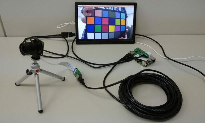 含20米长网线的树莓派摄像头套件