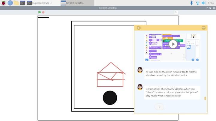 在Scratch课程里执行任务