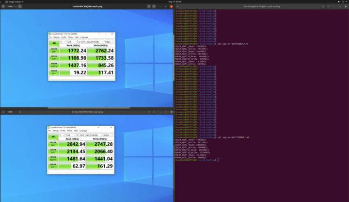 在Windows和 Ubuntu上测试状况