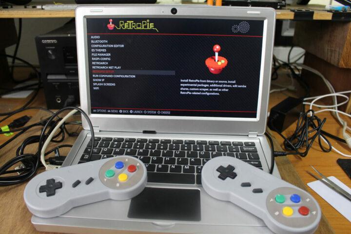 套件中包含USB游戏手柄
