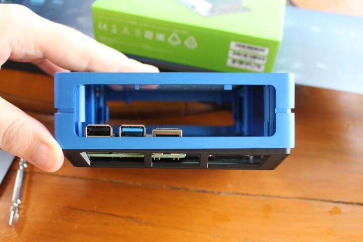 安装树莓派4到re_computer机箱遇到的接口高度问题