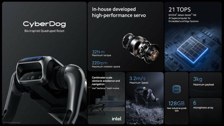 小米 CyberDog 的功能和规格