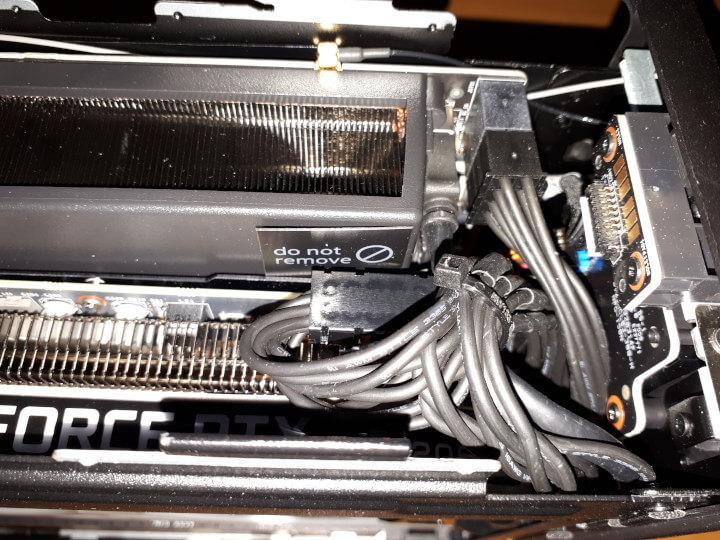 整理英特尔NUC9套件的线缆