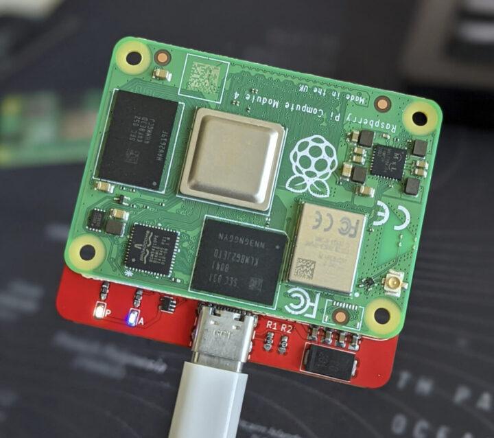 树莓派CM4的最小载波板