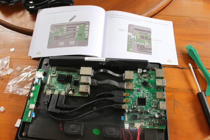 正在组装的RasPad 3
