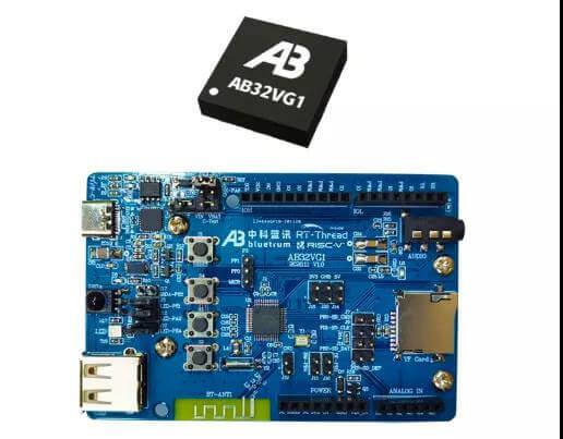 用于通用和音频应用的AB32VG1开发板