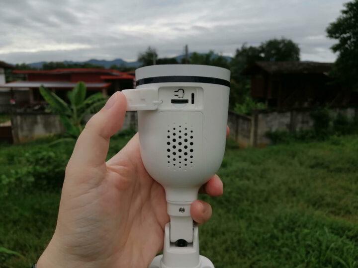 福斯康姆SPC安防摄像头上的MicroSD卡插槽