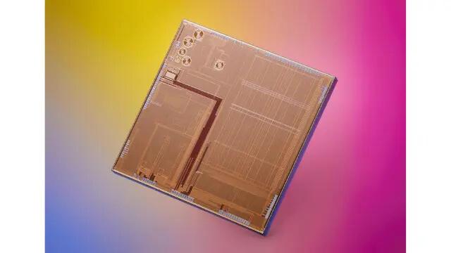 超低功耗RISC-V芯片的裸片