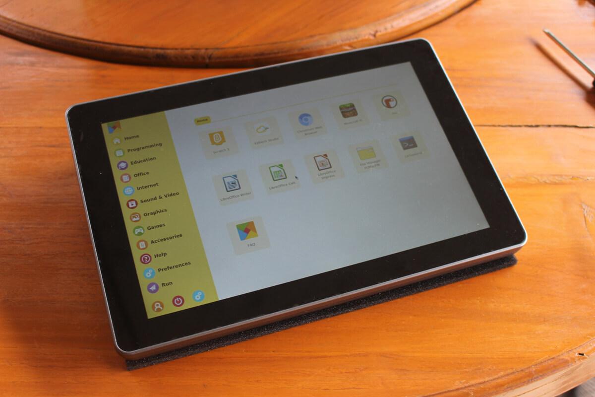 进入RasPad OS用户界面