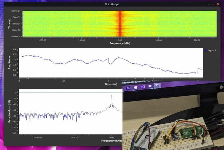 通过树莓派Pico驱动的SDR