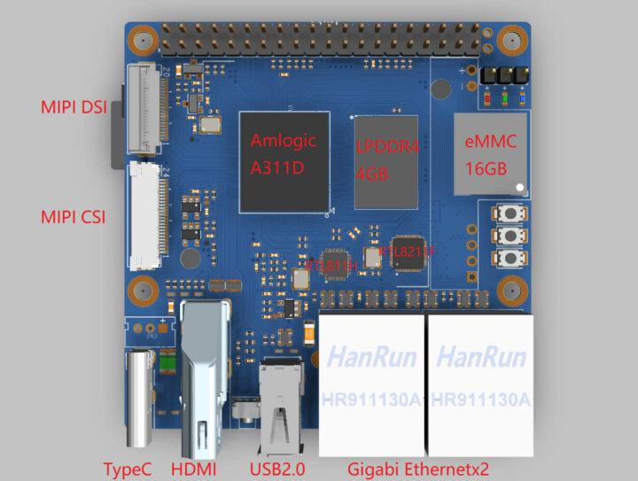 香蕉派BPI-M2硬件接口