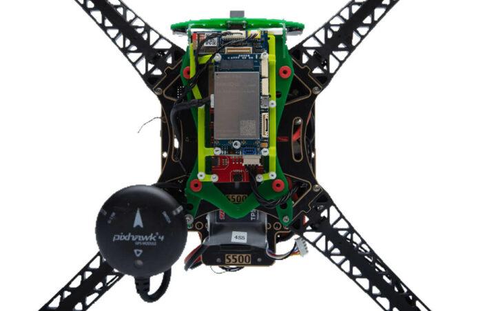 高通5G drone pixhawk 4 GPS