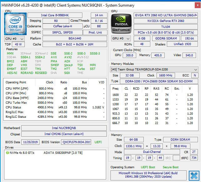 28 memory running at-2666
