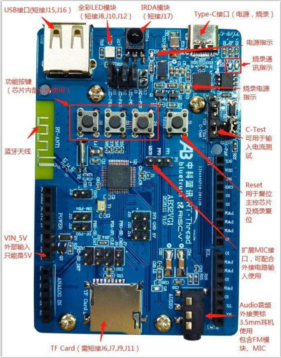 AB32VG1 开发板