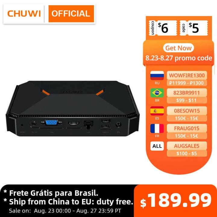 CHUWI Herobox迷你电脑优惠券