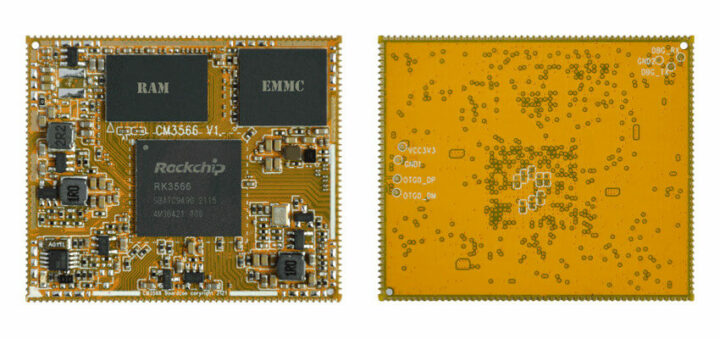 CM3566 RK3566 系统级模块