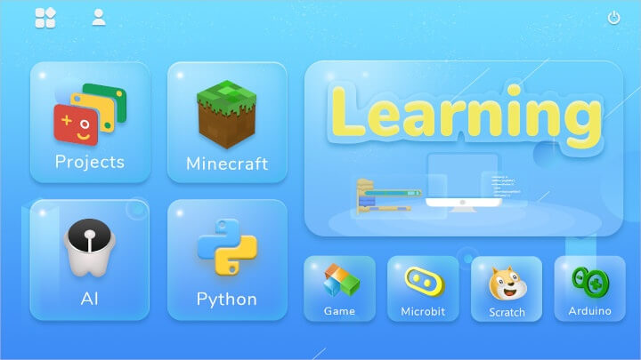 CrowPi2教育软件操作界面