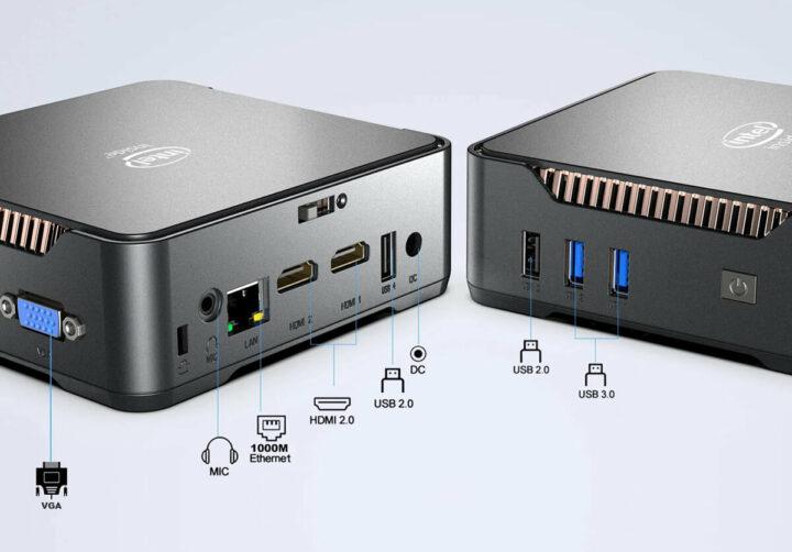 GK3V迷你电脑硬件的接口