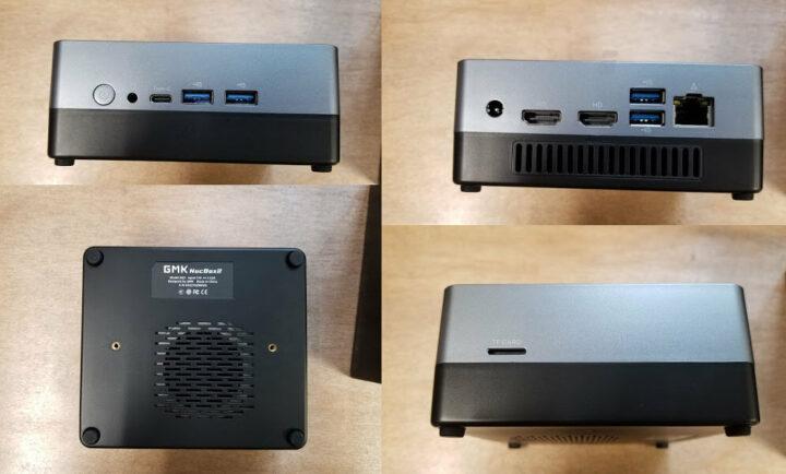 GMK NucBox外观及端口