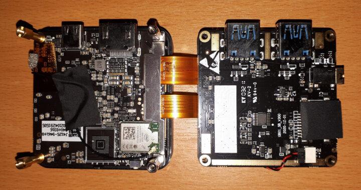 GMK TEC设备内部两块主板