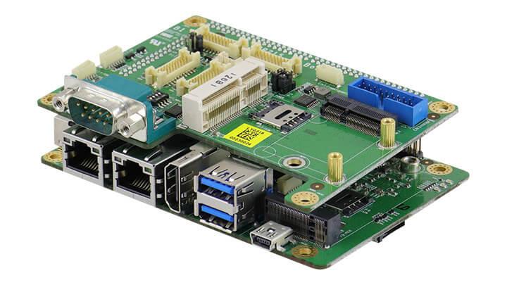 IBASE IBR215 SBC I/O单板计算机