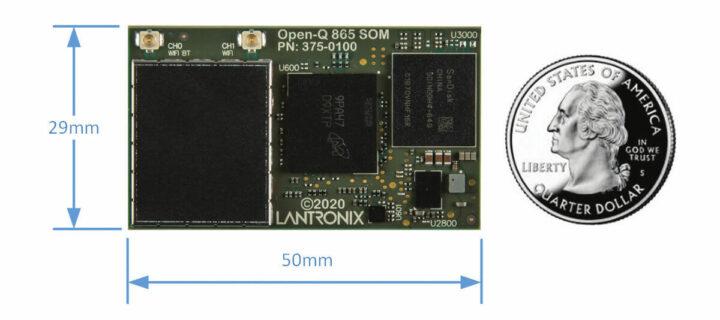 Open-Q 5165RB SOM尺寸