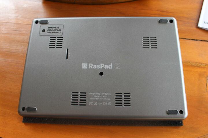 RasPad 3底面