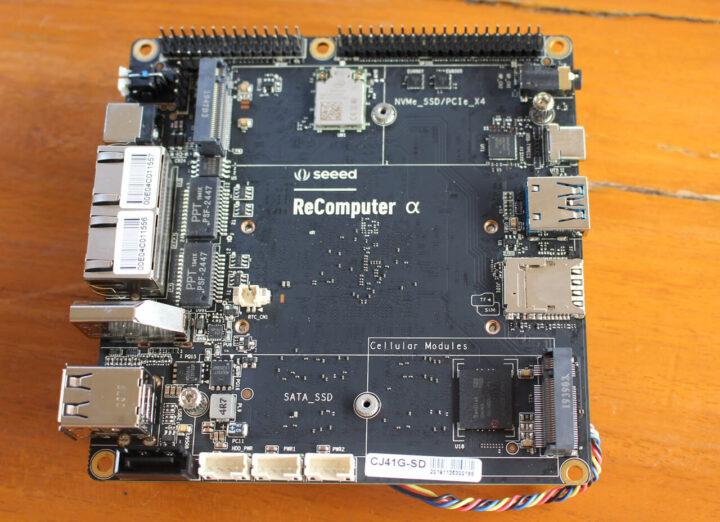 ReComputer Alpha SBC