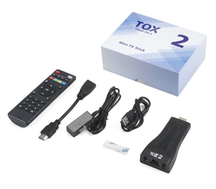 TOX2 迷你电视棒和配件