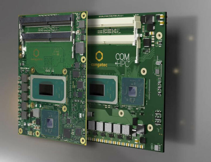 Tiger Lake-H COM-HPC和COM Express CPU模块