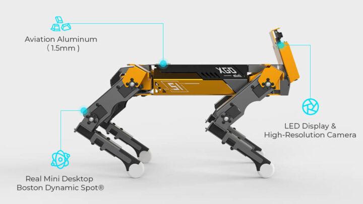 XGO Mini Pro 四足机器人