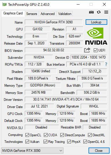 windows GPU信息