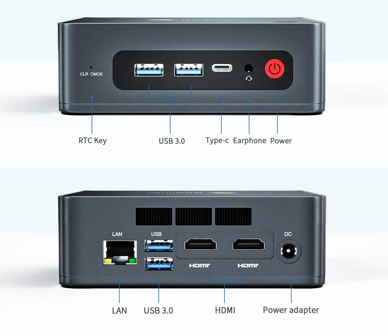 双HDMI、GbE、4x USB的Beelink-U59