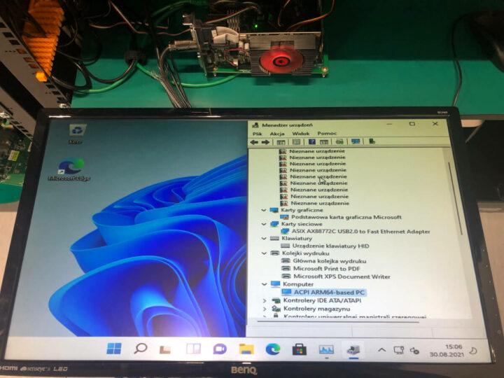 在ACPI ARM64 PC上运行的Windows 11