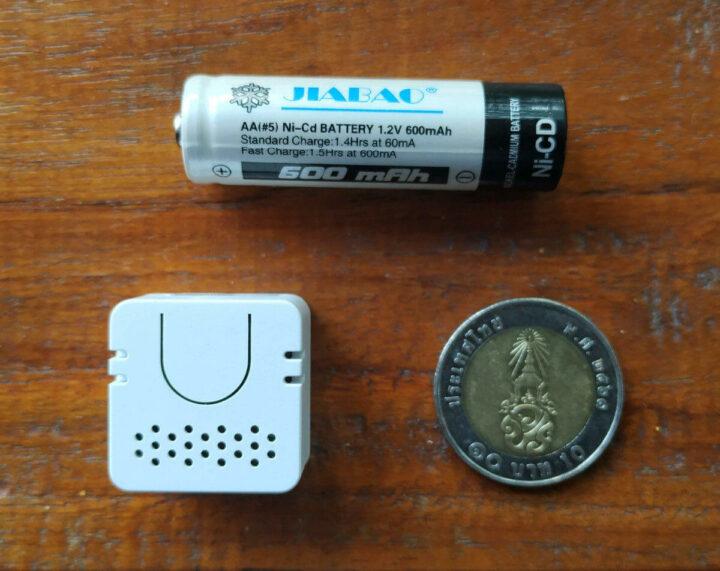 硬币大小的M5Stack Atom Echo蓝牙扬声器