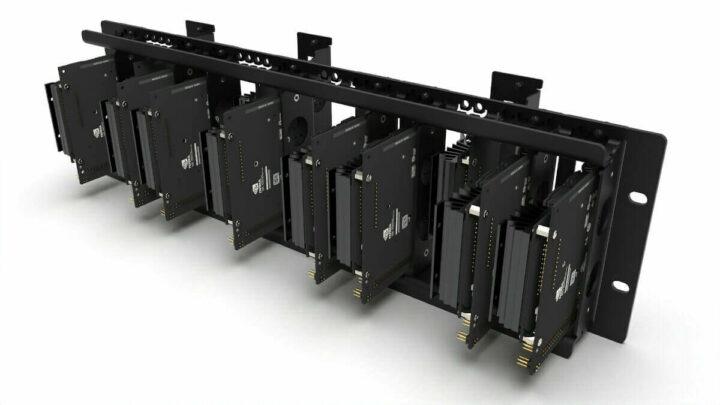 适用于NVIDIA Jetson的3U机架安装机箱