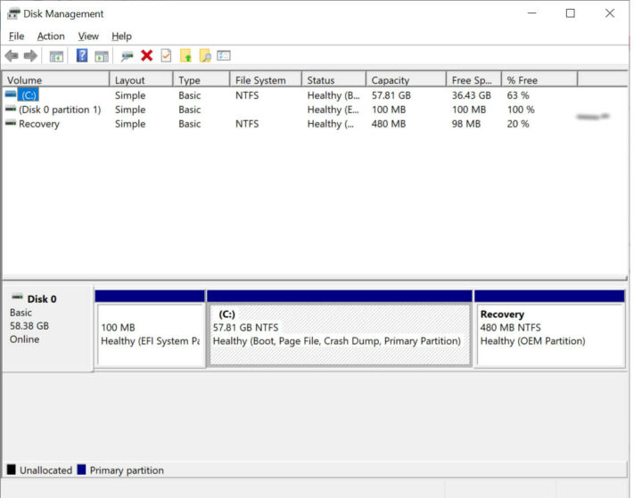 64GB eMMC 闪存驱动器