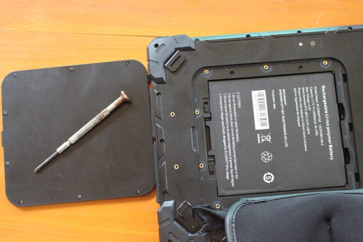GOLE F7平板电脑的电池
