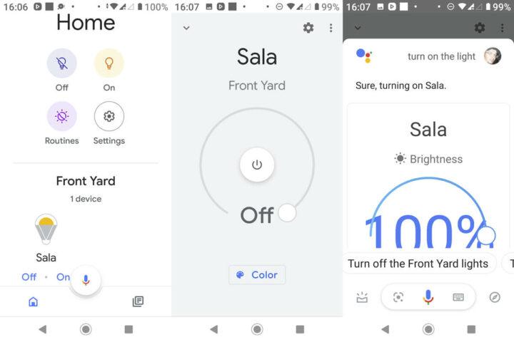 Google Home控制 Yeelight WiFi 灯