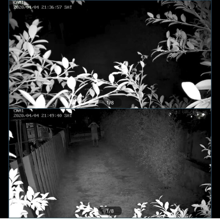 HeimVision摄像头夜视画面