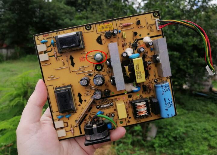 LG Flatron W1934S VGA显示器电源板