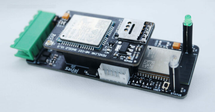 MiniLink IIoT Node与 NB-IoT Shield (Quectel BC95-G)