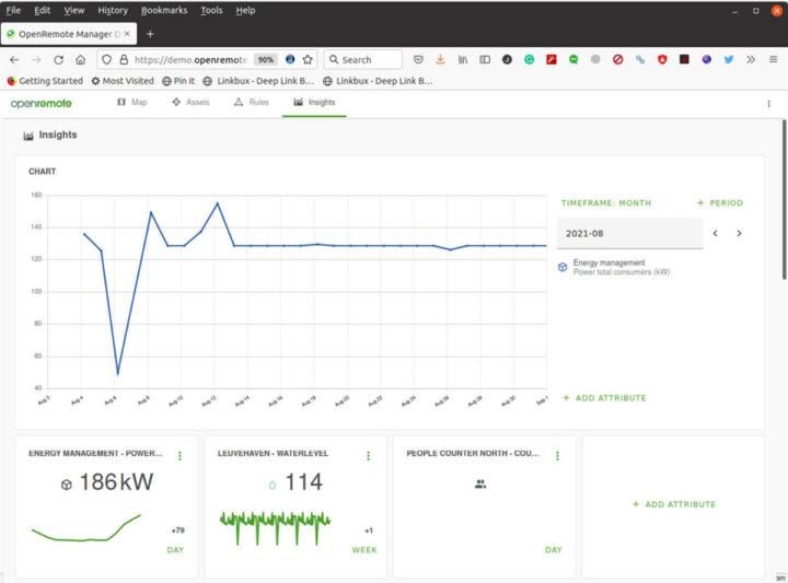 OpenRemote开源物联网平台演示