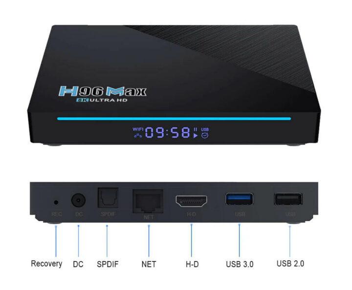 RK3566电视盒及外部配置
