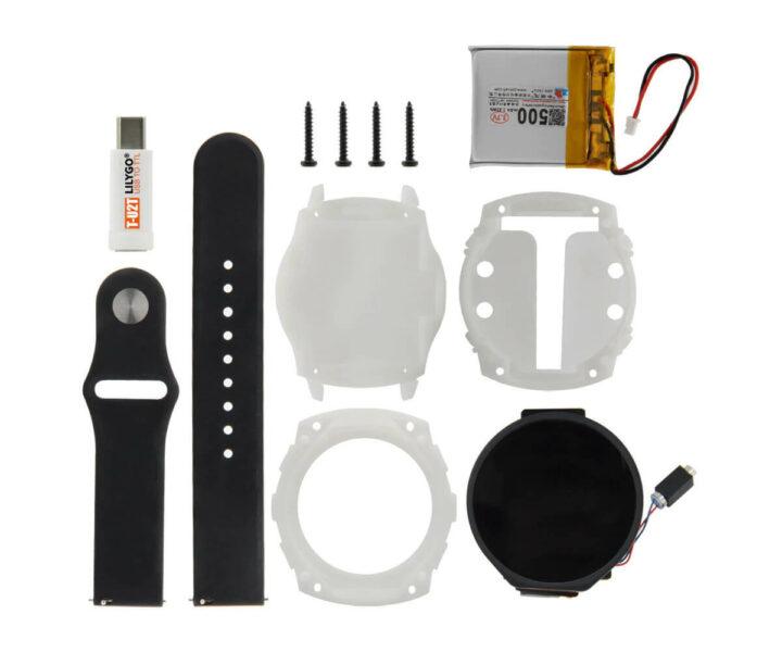 T-Watch 2021套件,带电池、表壳和腕带