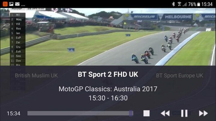 TVMosaic 在安卓上的截图