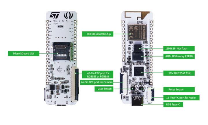 Wio Lite AI开发板接口