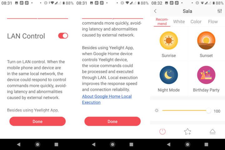 Yeelight App局域网控制